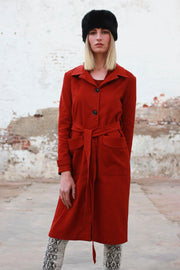 Rust Boater Coat