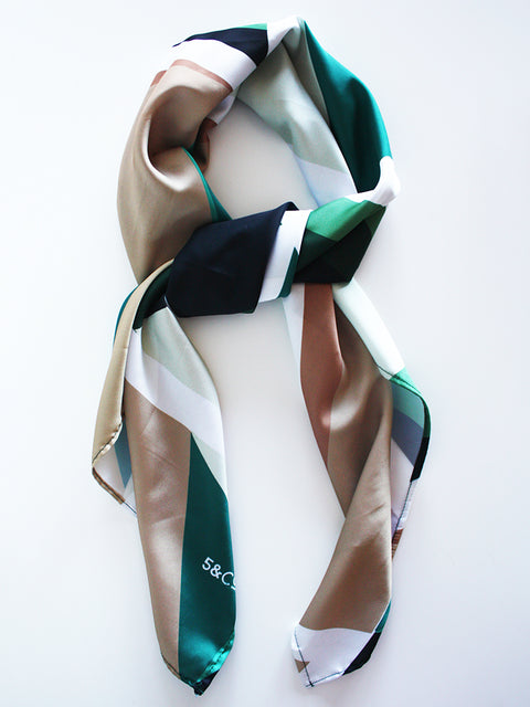 Silo Glass Silk scarf