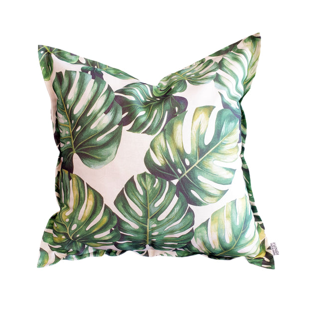 Monstera Greenery Scatter Cushion Cover