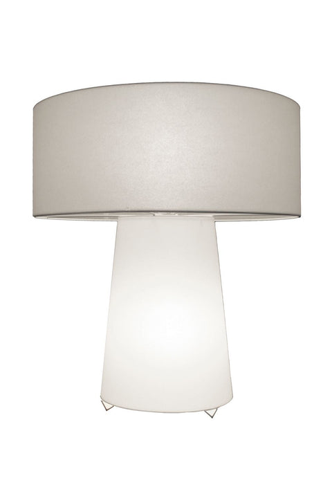 Seattle Table Lamp - Parchment Opaque White