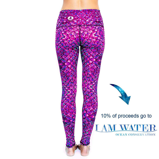 Angelfish Yoga Pants - proceeds go towards Ocean Conservation