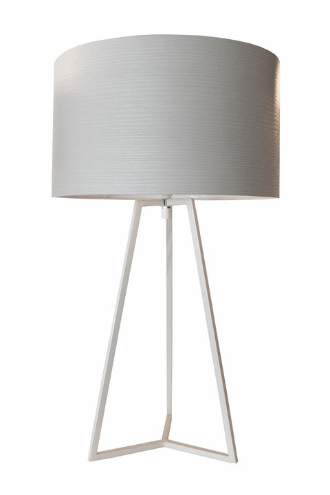 Triad Table Lamp - Light Grey