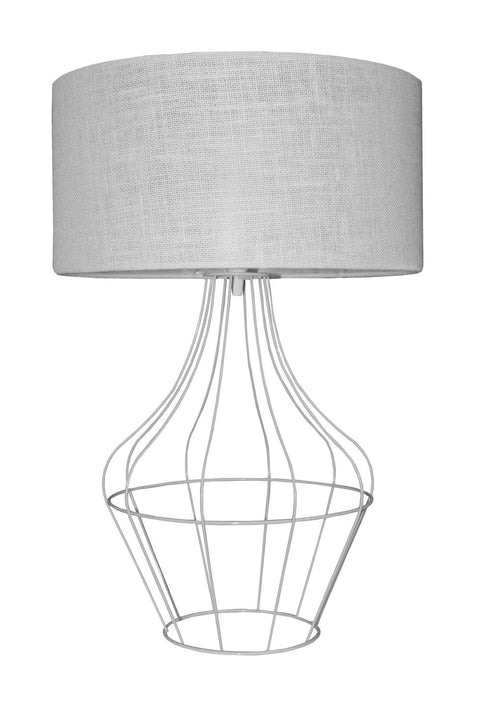Enigma Table Lamp - White