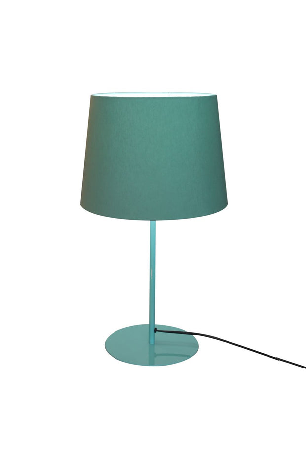 Metal Upright Table Lamp - Aqua