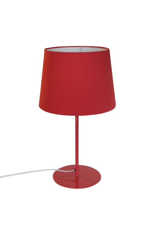 Metal Upright Table Lamp - Coral