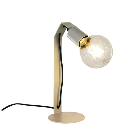 Edison Desk Lamp - Grey Metallic