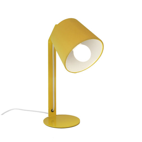 Einstein Desk Lamp - Yellow Gloss