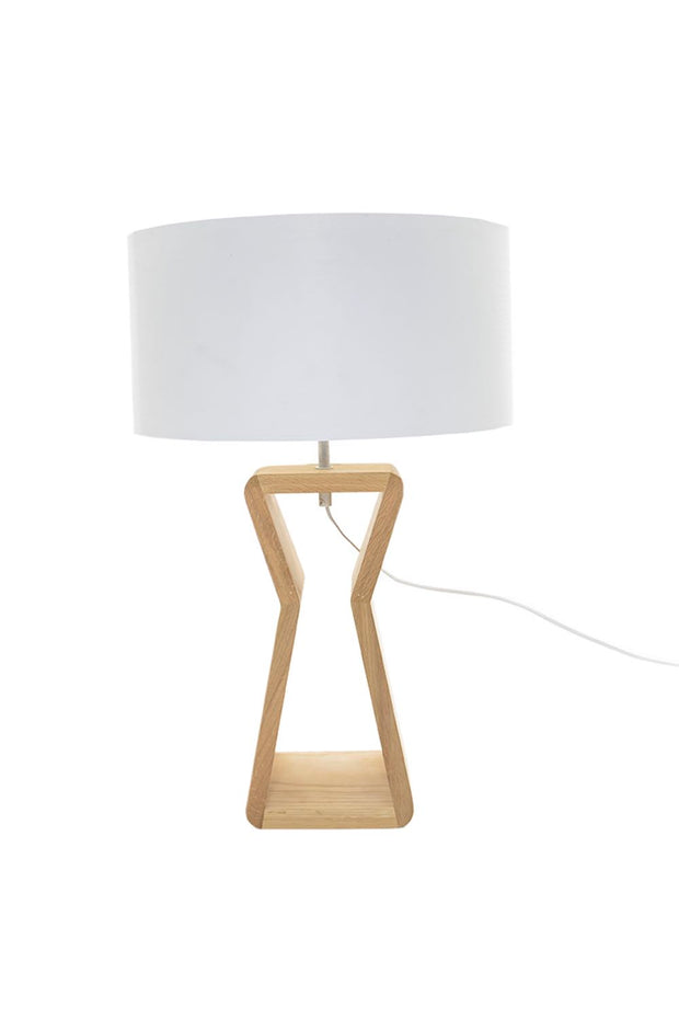 Davenport Table Lamp - Oak