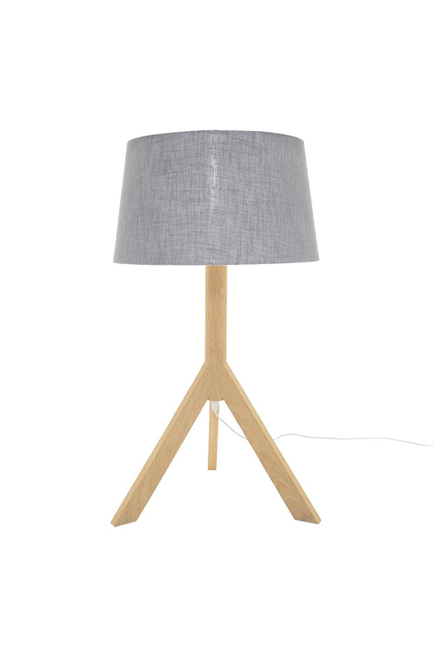 Rocket Table Lamp - Oak