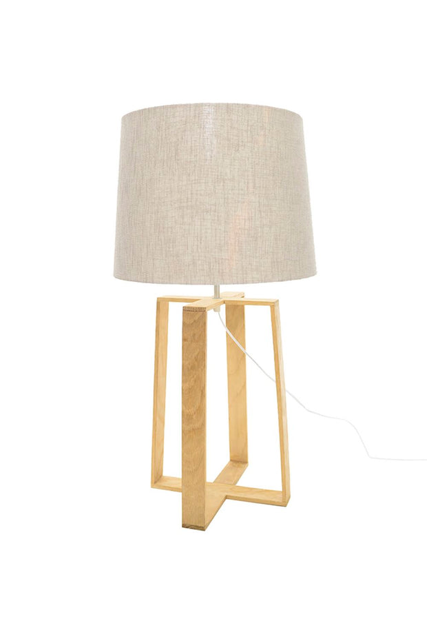 Rothschild Table Lamp - Oak