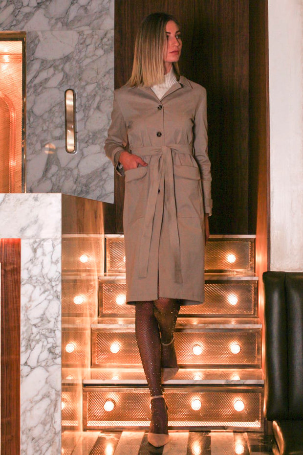Toffee Boater Coat