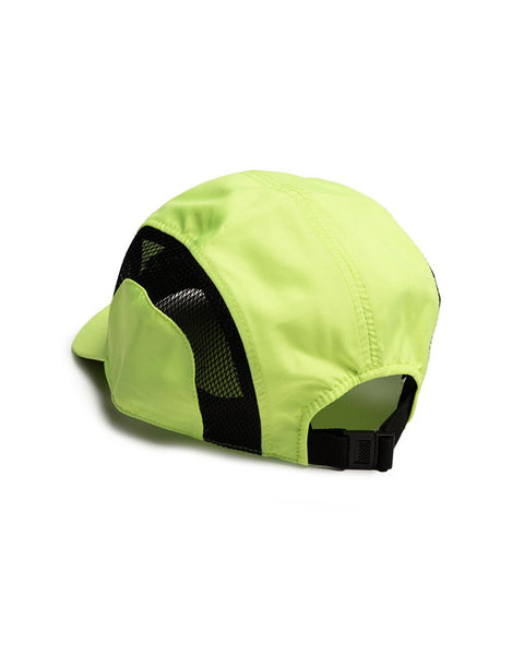 Neon Yellow Branded Peak Cap