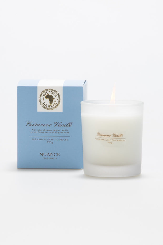 Guimauve Vanille Scented Candle
