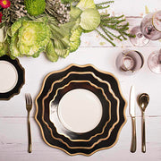 Versailles Dinnerware Set Black