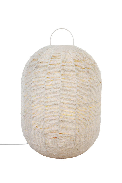 Cotton Floor Lantern