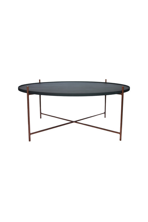 Floating Coffee Table Large - Copper/Saddlewood