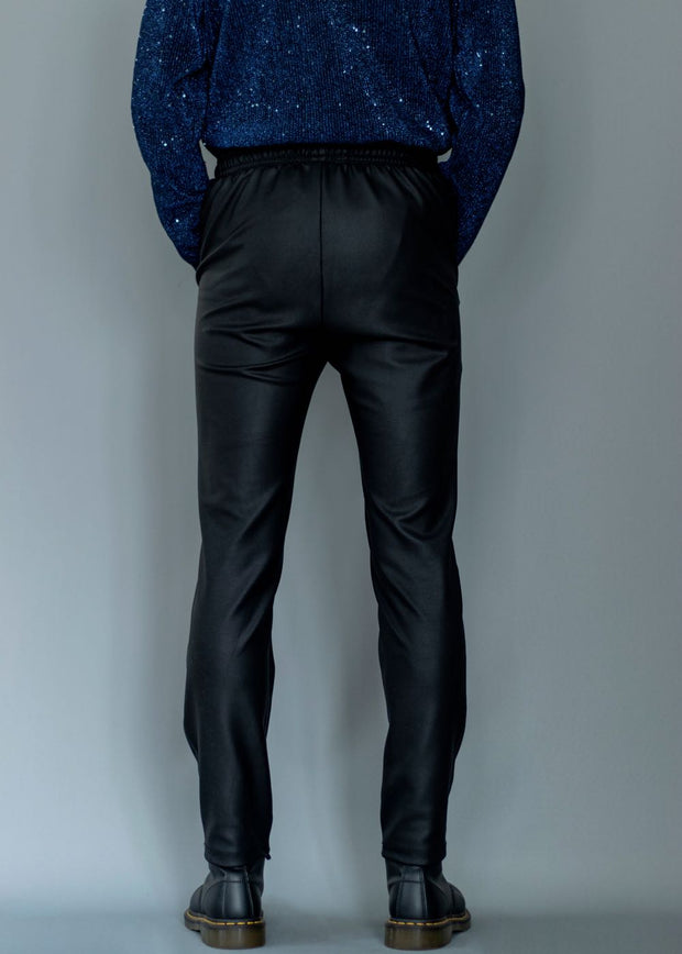 WAX TRACK TROUSERS