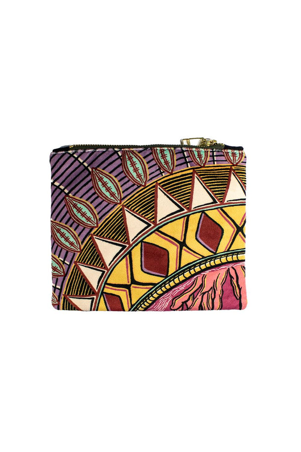 Zhi Zulu Crown Cosmetic Pouch
