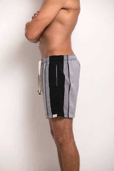 Hipster Shorts - Grey & Black
