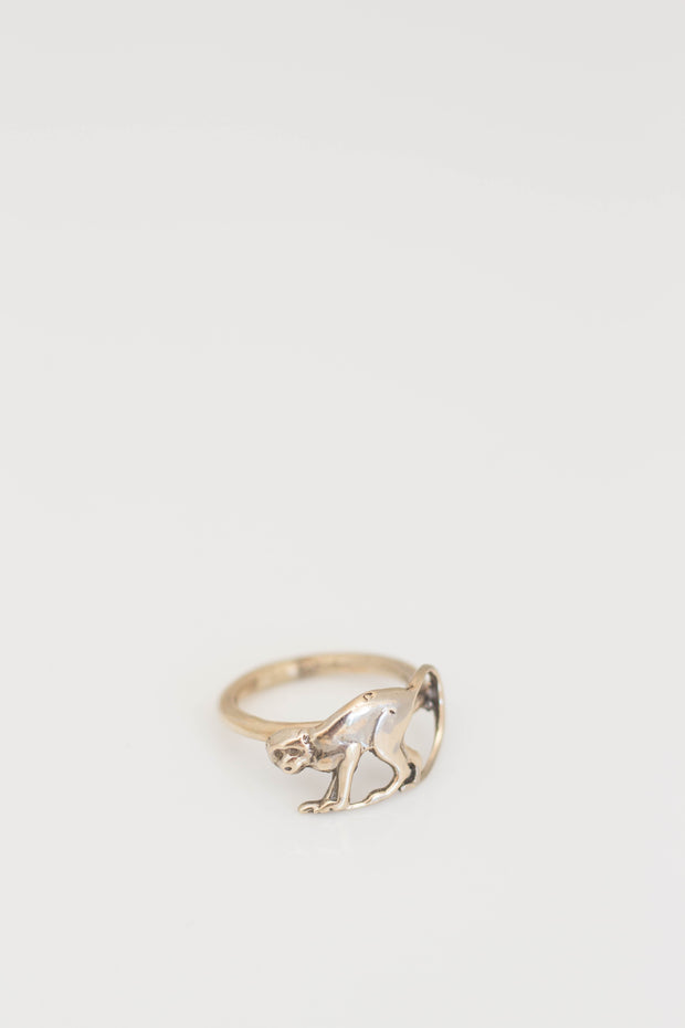 Gold Monkey Ring