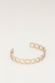 Gold Signature Bangle