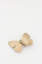 Butterfly Gem brooch