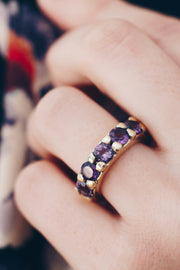 Ombré Amethyst Gem Ring