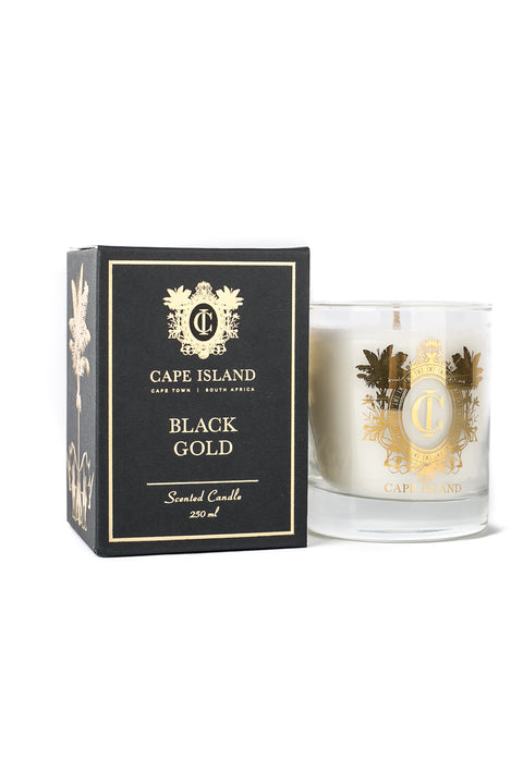 Black Gold Medium Scented Candle