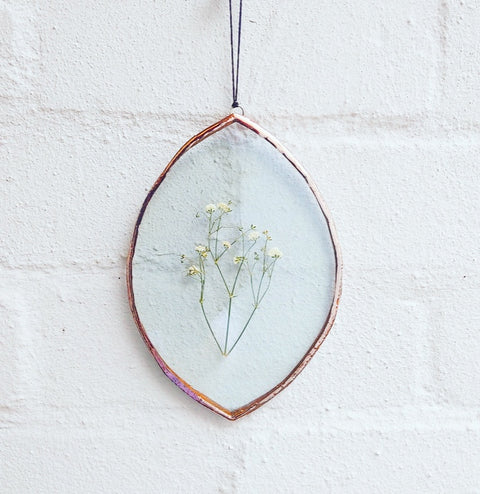Botanical Wall Hanging - Oval medium