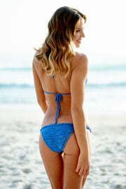 Royal Blue Crochet Bikini Bottom