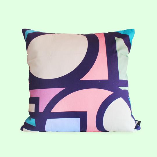 Circa Bold Stained Pillow Cover