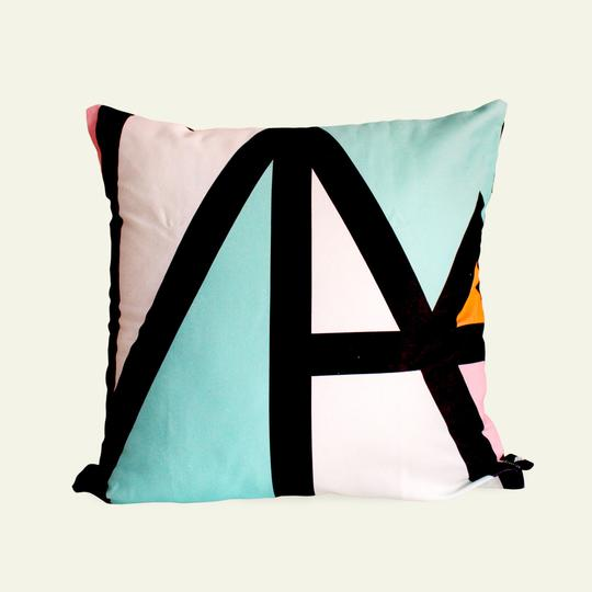Trinity Teal Pillow Cover