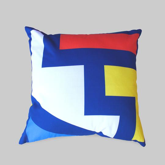 Ndebele Minimal Pillow Cover