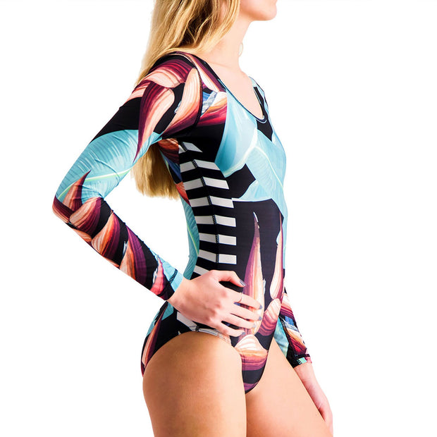 Birds of Paradise Surf Suit