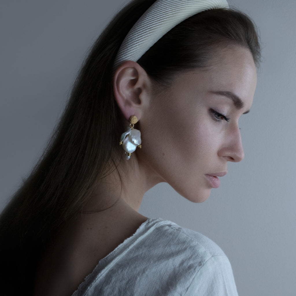 Valencia Pearl Drops from One Dame Lane Bridal Jewellery