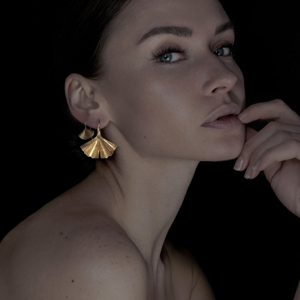 GINGKO BILOBA || EARRINGS [small]