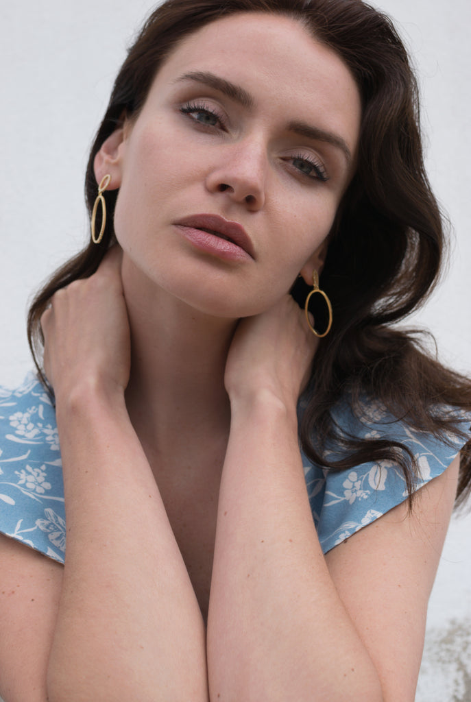 OVELLE  || DROP EARRING