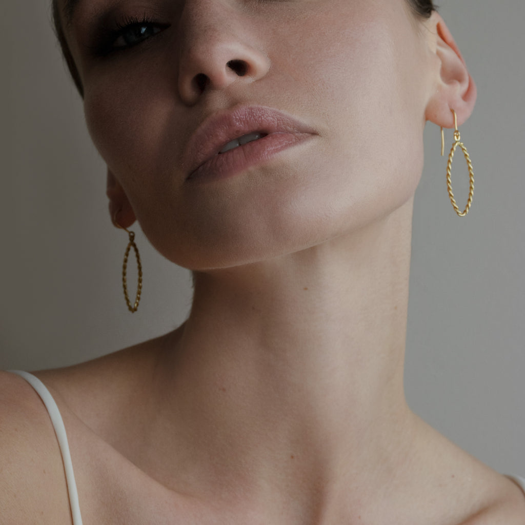 NAVETTE // DROP EARRING [small]