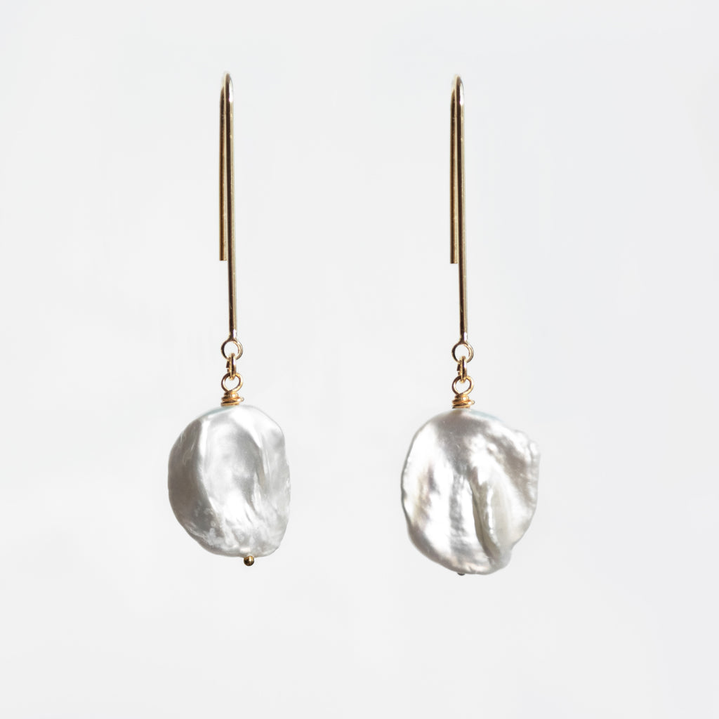 PEARL STEM || EARRINGS