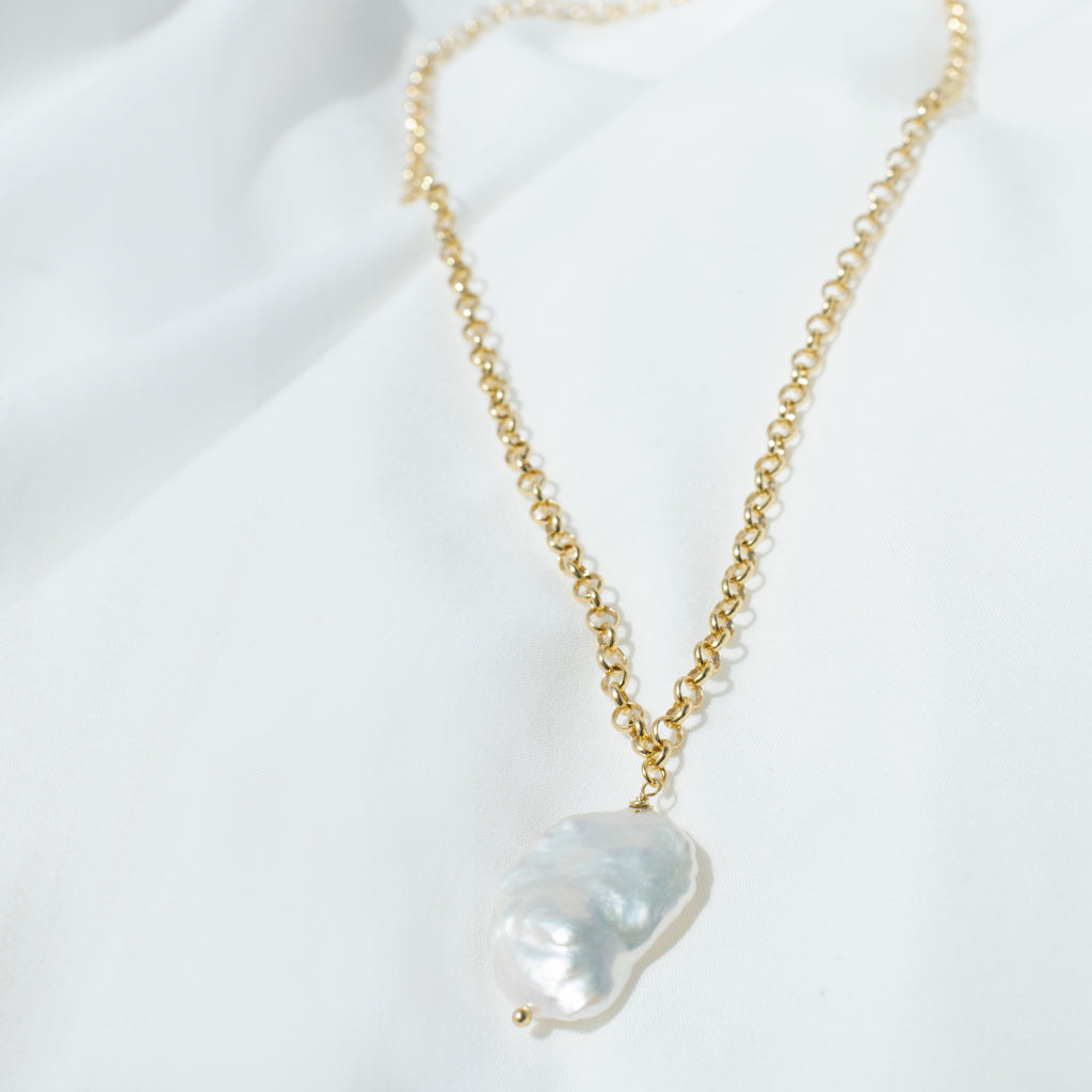 BAROQUE PEARL || NECKLACE