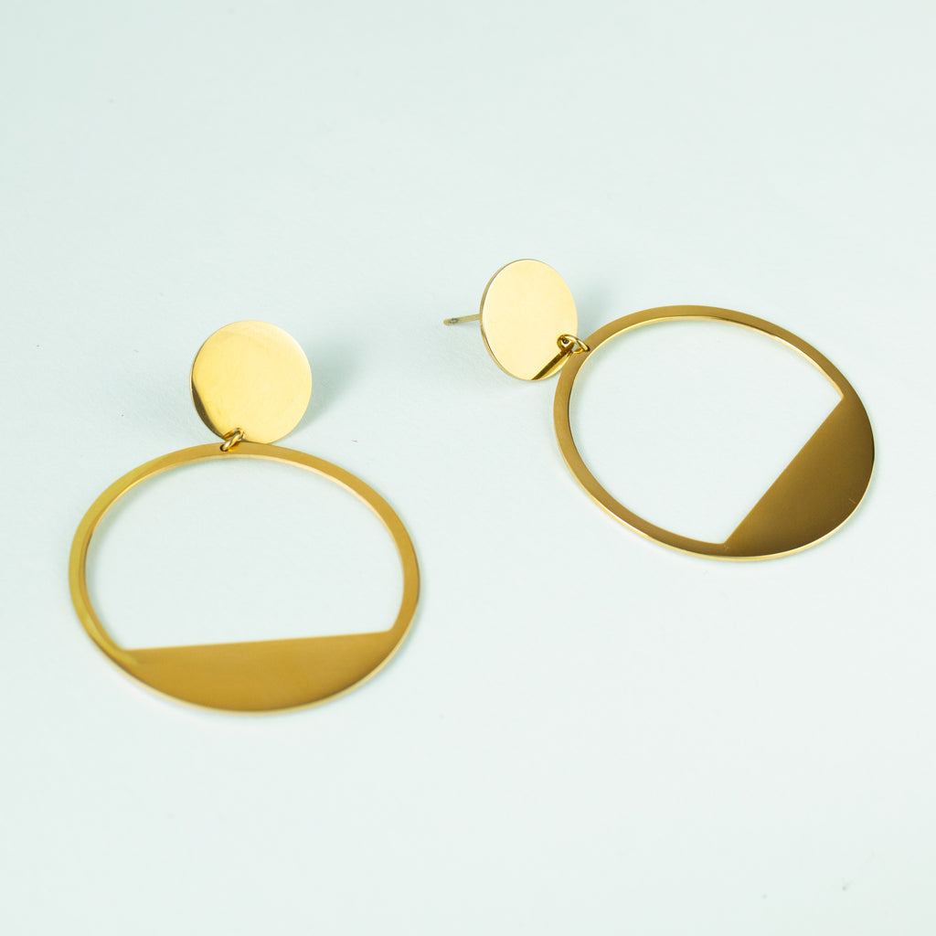 GOLDEN HALO || EARRINGS