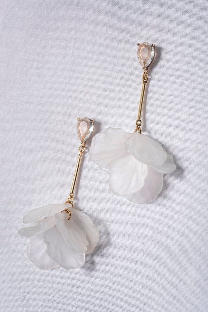 MAGNOLIA STEM || EARRINGS