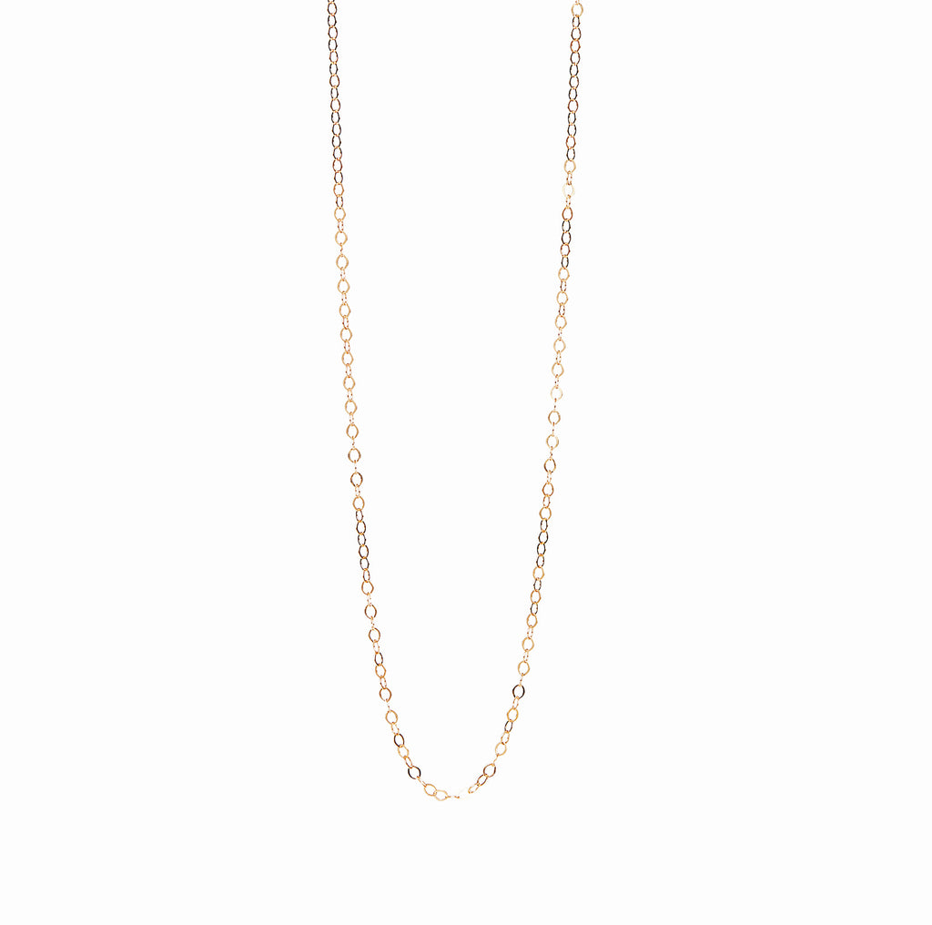 18k Gold Fill Cable Chain Personalised Necklace