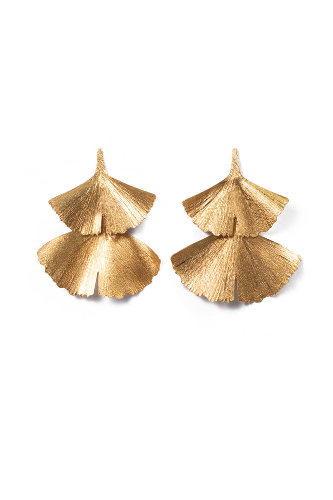 GINGKO DUAS || EARRINGS [medium]