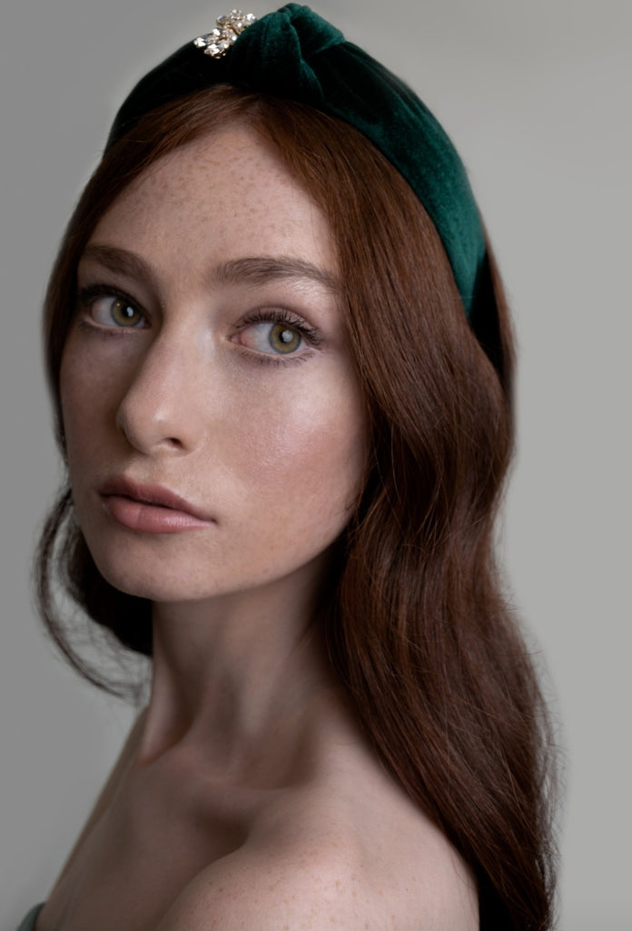 Emerald Green Hairband from One Dame Lane