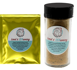 Land & SEAsoning - Combo Shaker & Packet