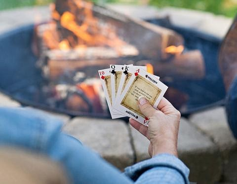 Playing fire-side chats conversation starters game