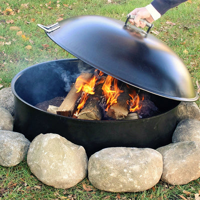 lid for bonfire pit firepit lid campfire snuff lid bonfire safety