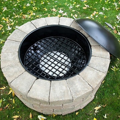 Best Fire Pit Easy to Use firepit Bonfire Pit Insert Steel Insert for fire pit fire pit ring