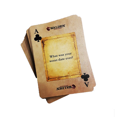 funny card games fire-side chats playing cards